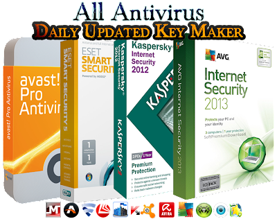 All Antivirus Keys For All Product Working 11 Jun 2013 Free