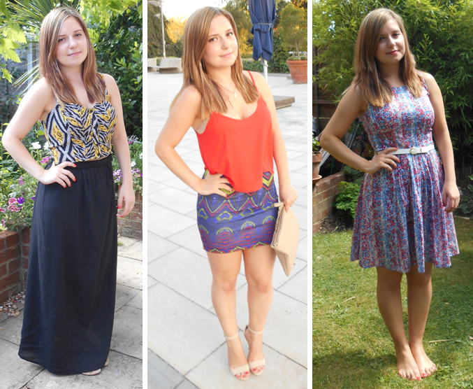 Sophia Bella Summer fashion Birthday outfits from Topshop Primark River Island New Look and ...