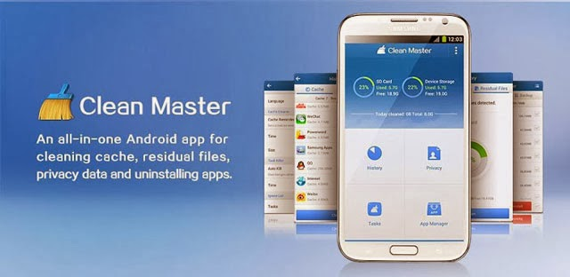 Clean master-Android cleaning app
