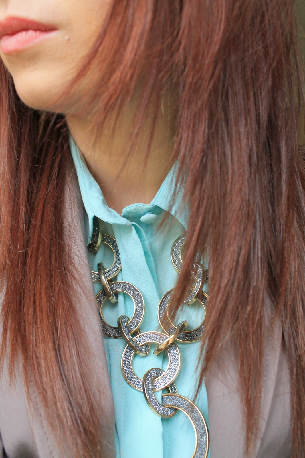 Primark Shirt & H&M Blazer Wallis Necklace