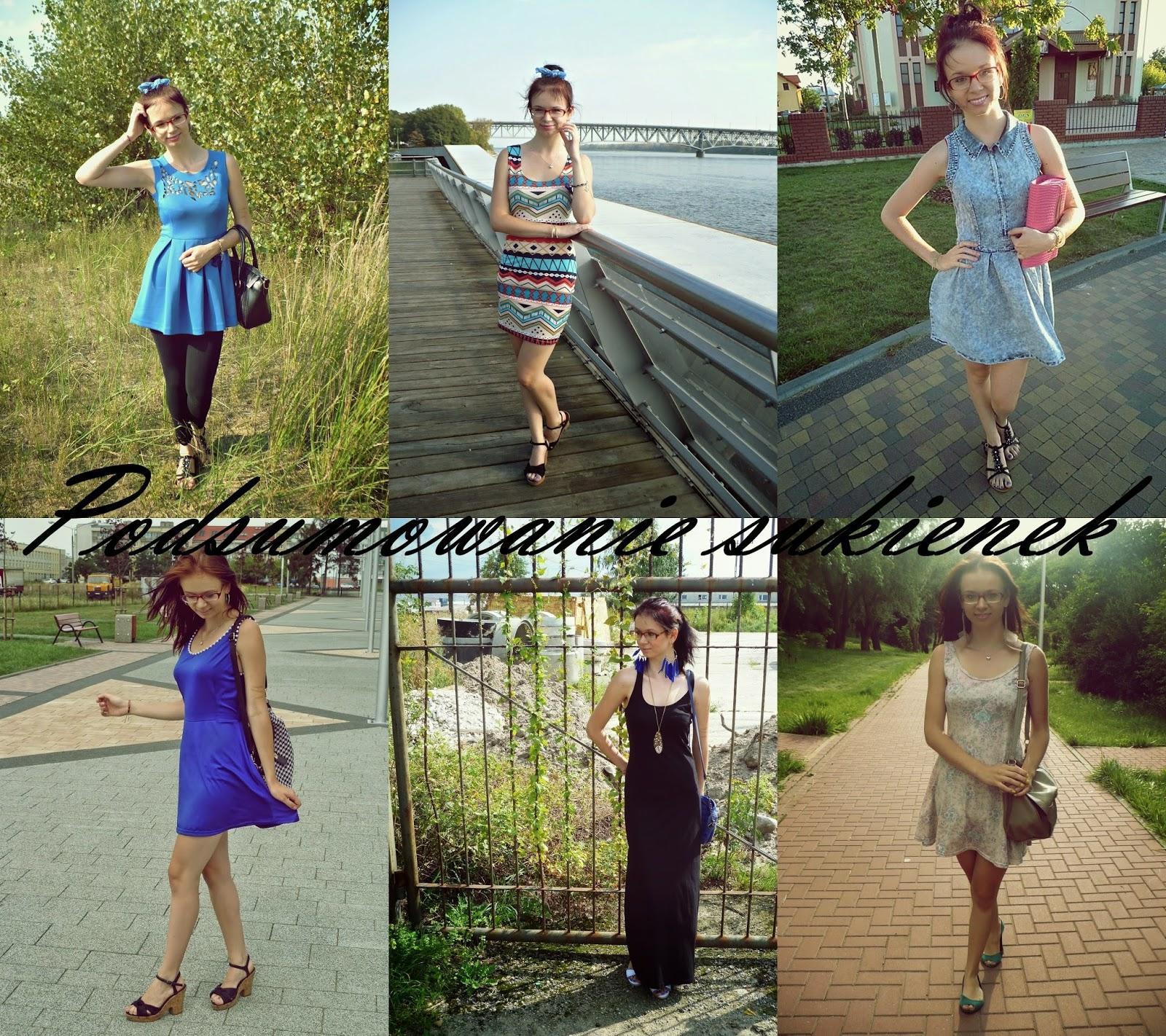 Podsumowanie sukienek