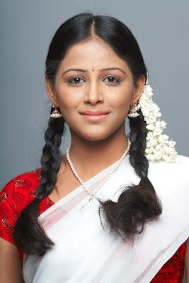 subhiksha in half saree spicy shoot actress pics