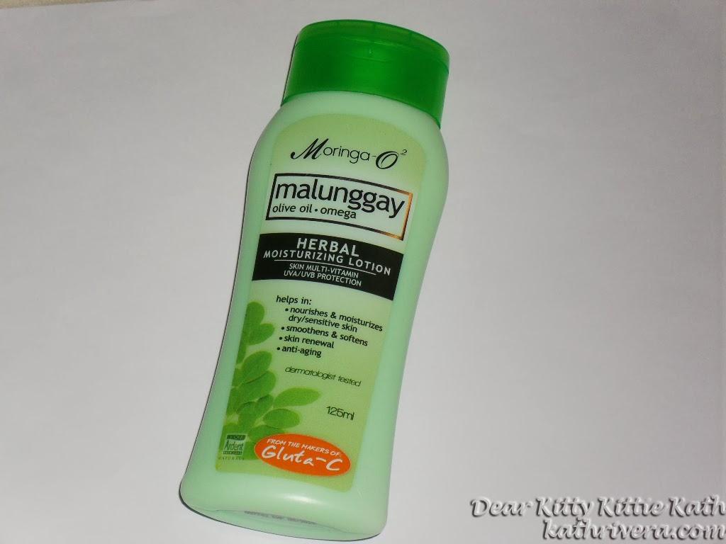 Editor's Pick III January 2013: Moringa-O2 Malunggay Herbal Lotion