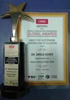 CEO of ATDC Gurgaon Wins Global Award