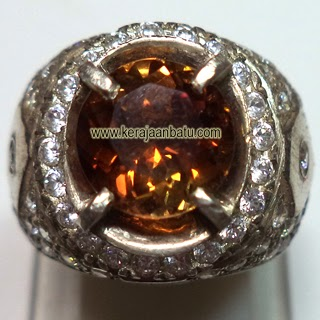 Batu Permata Natural Brown Topaz
