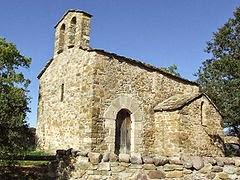 iglesia de Santa Bárbara de Sensui