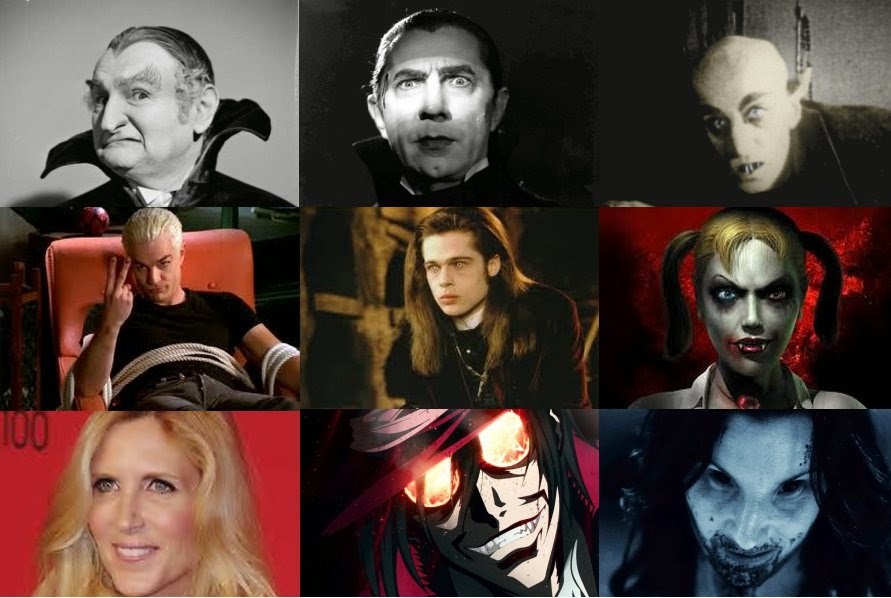 Wall of vampires through the ages