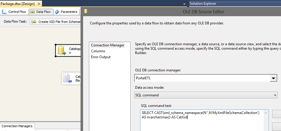create ssis package to generate pdf from ssrs