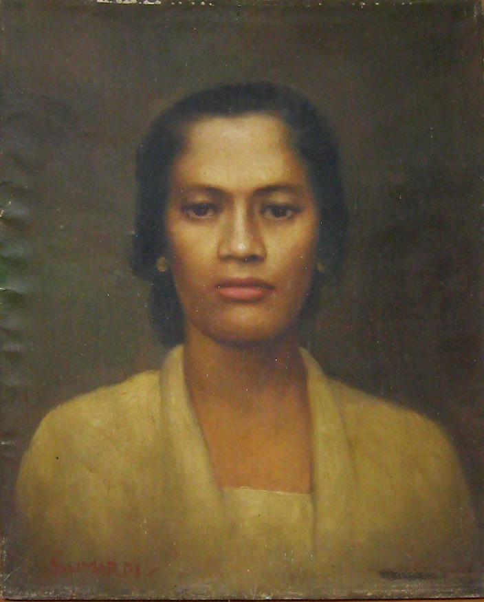 Wanita Dalam Lukisan Nuansa Klasik Jawa Sebagai Salah Satu