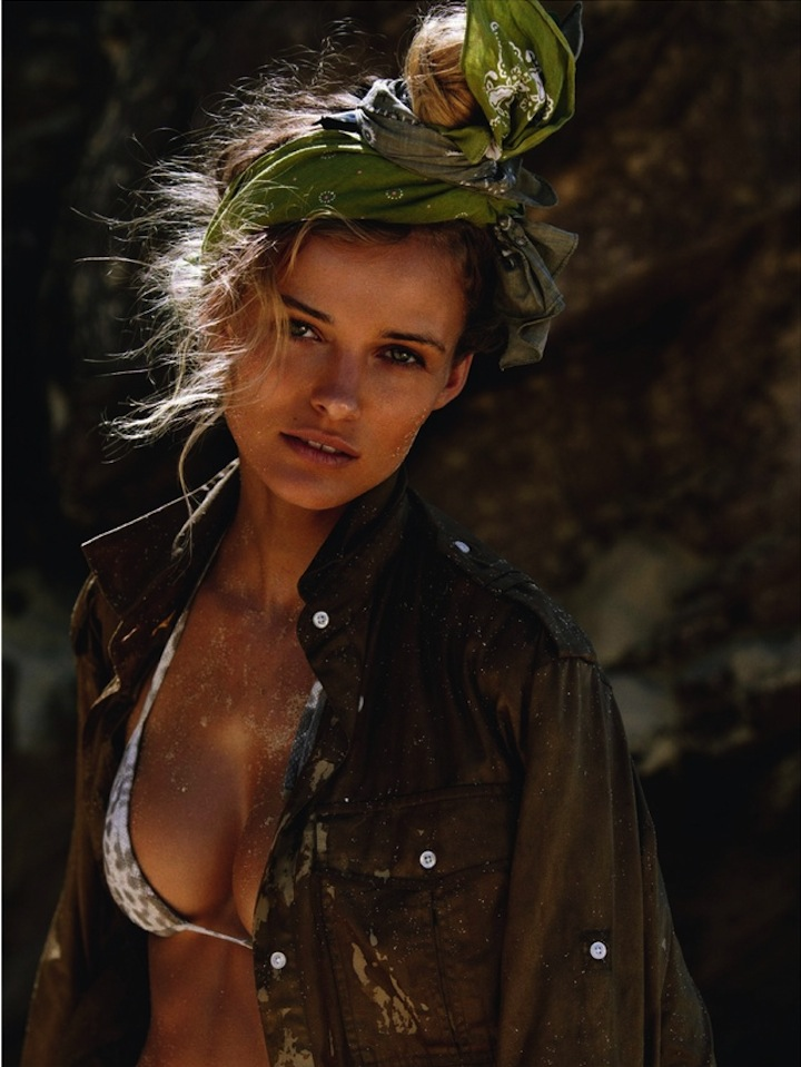 Edita Vilkeviciute by Gilles Bensimon for Vogue Paris June 2013