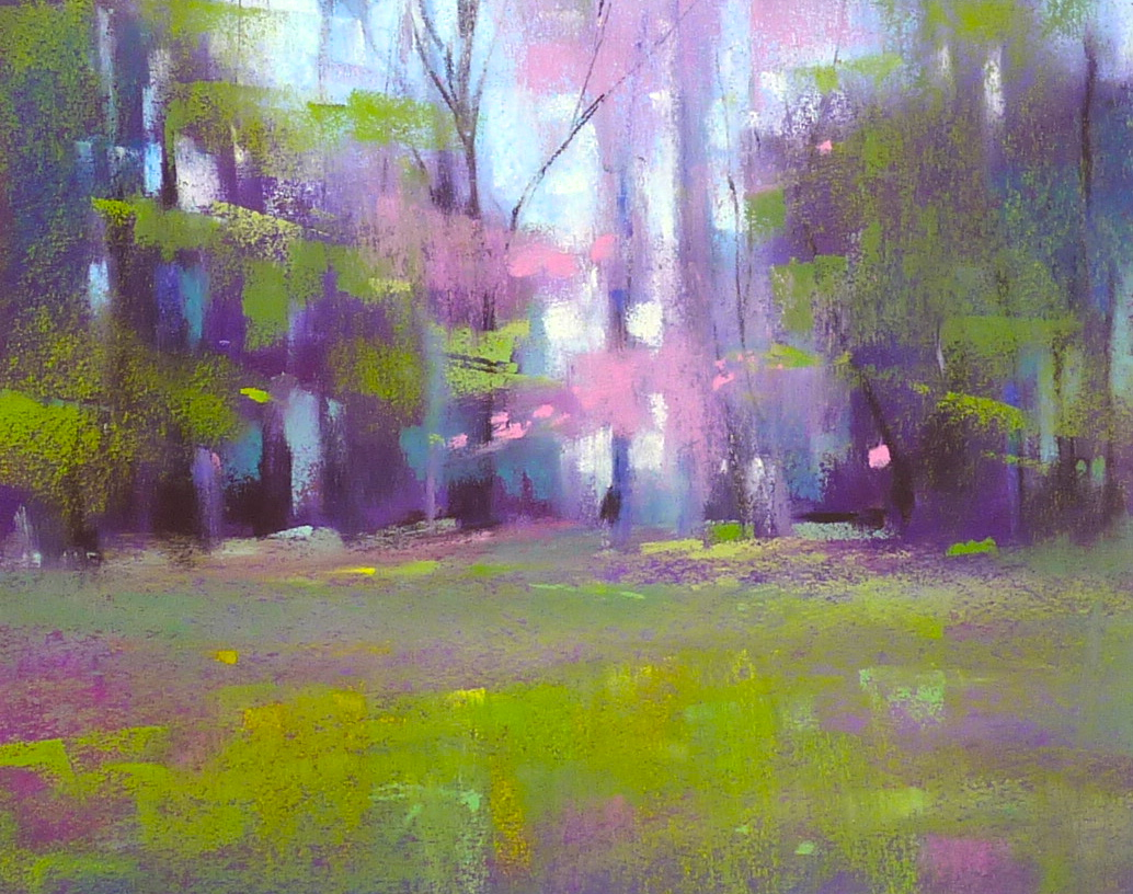 Painting My World: Monday Pastel Demo...Spring Landscape