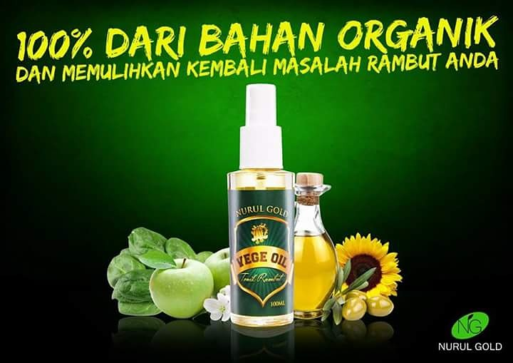 Serum Rambut Vegeoil