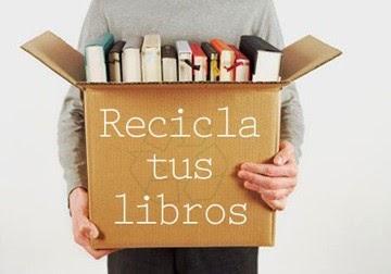 ¡Recicla tus libros!