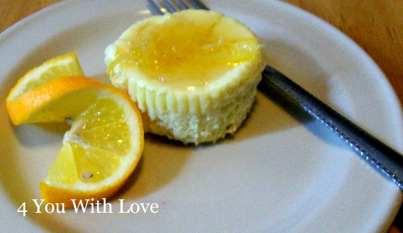 Shaker Lemon Mini Cheesecakes - 4 You With Love
