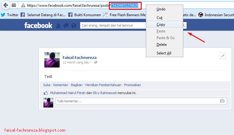 Cara Agar Status Facebook Di Komentari Banyak Orang ( Auto Comment  )