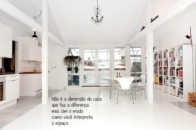 decoraçao-pequenos espaços-loft-sala