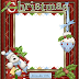 Pretty Christmas Free Printable Photo Frames, Cards or Invitations.