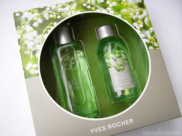 Yves Rocher Muguet de Fleurs Lily of the Valley Set