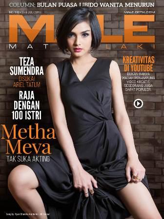Download Gratis Majalah MALE Mata Lelaki Edisi 140 Cover Model Metha Meva | MALE Mata Lelaki 141 Indonesia | Cover MALE 140 Metha Meva - Soalnya Aku Gampang Penasaran | www.insight-zone.com