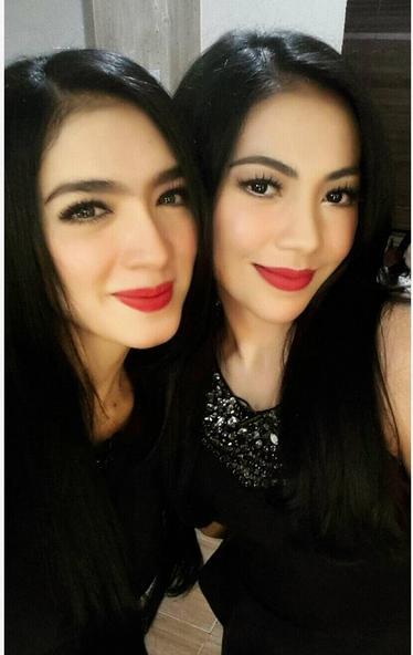 Foto Angel Karamoy dan Kezia Karamoy di Akun Instagram