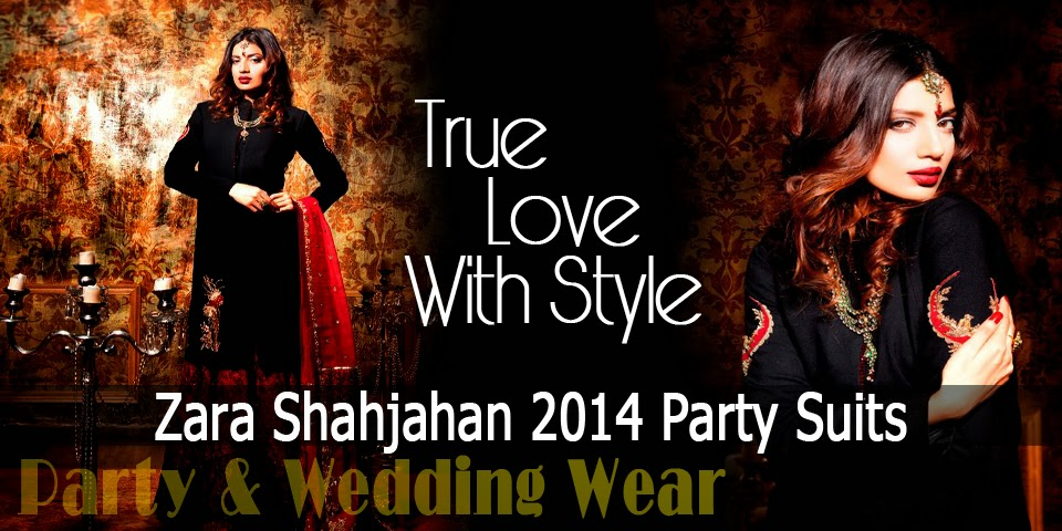 Zara Shahjahan 2014 Party Suits Collection - Banner