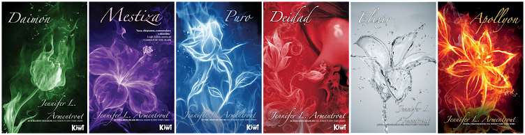 La saga Covenant en español por...Ediciones Kiwi