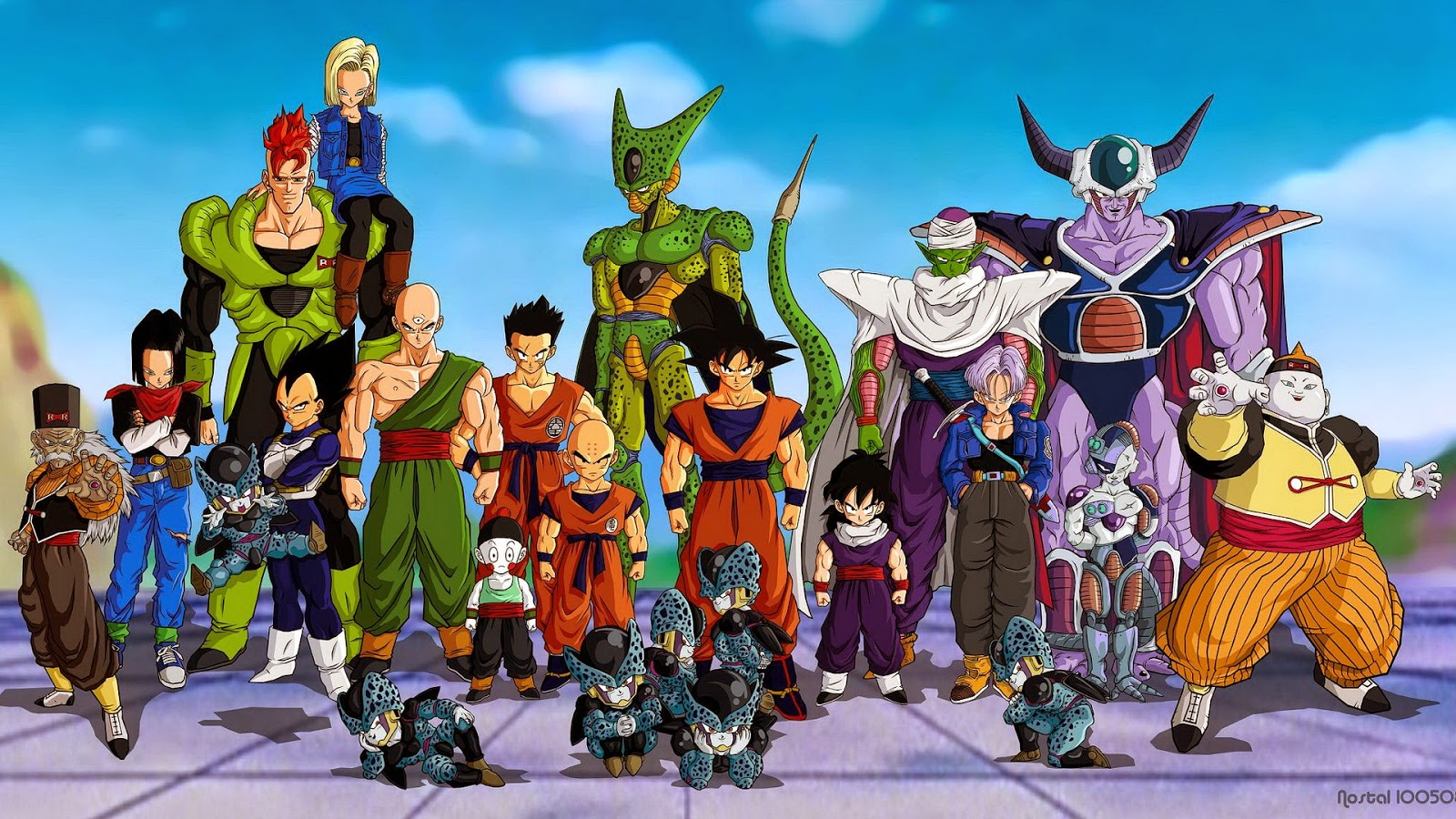 kisah cerita dragon ball android cell saga