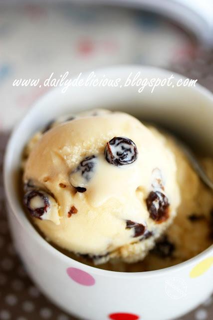 dailydelicious: Rum Raisin Ice cream: Prepare yourself to fall in love ...