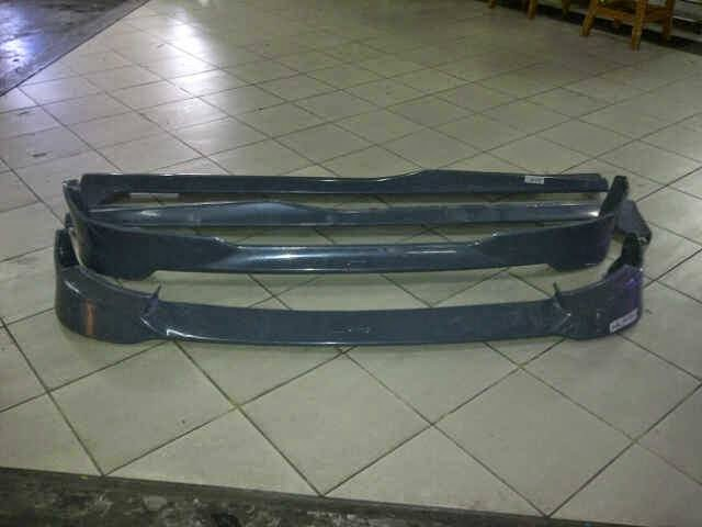 add on Toyota Agya TRD Plastik ABS
