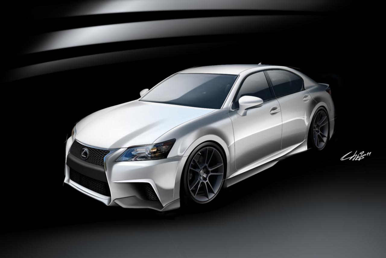 Five Axis Presents Lexus Gs 350 For Sema 2011 Car Tuning