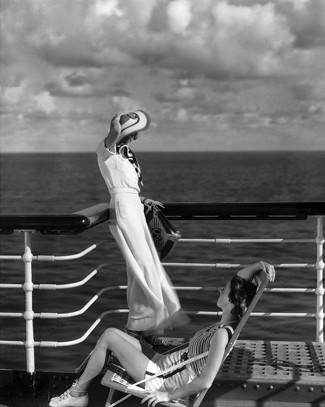 Stunning Fashion Photography By Edward Steichen From The S And - 1930s cruise ships
