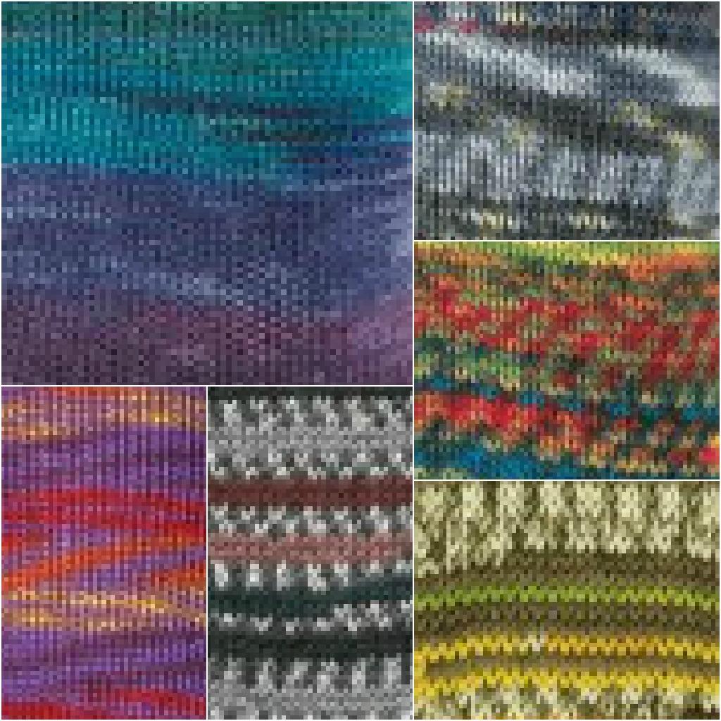 Knit Nottingham: Trigger, Rabbit, Fish, Jungle, BBC!