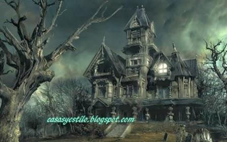 como son las casas hechizadas