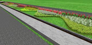 design taman tiga dimensi