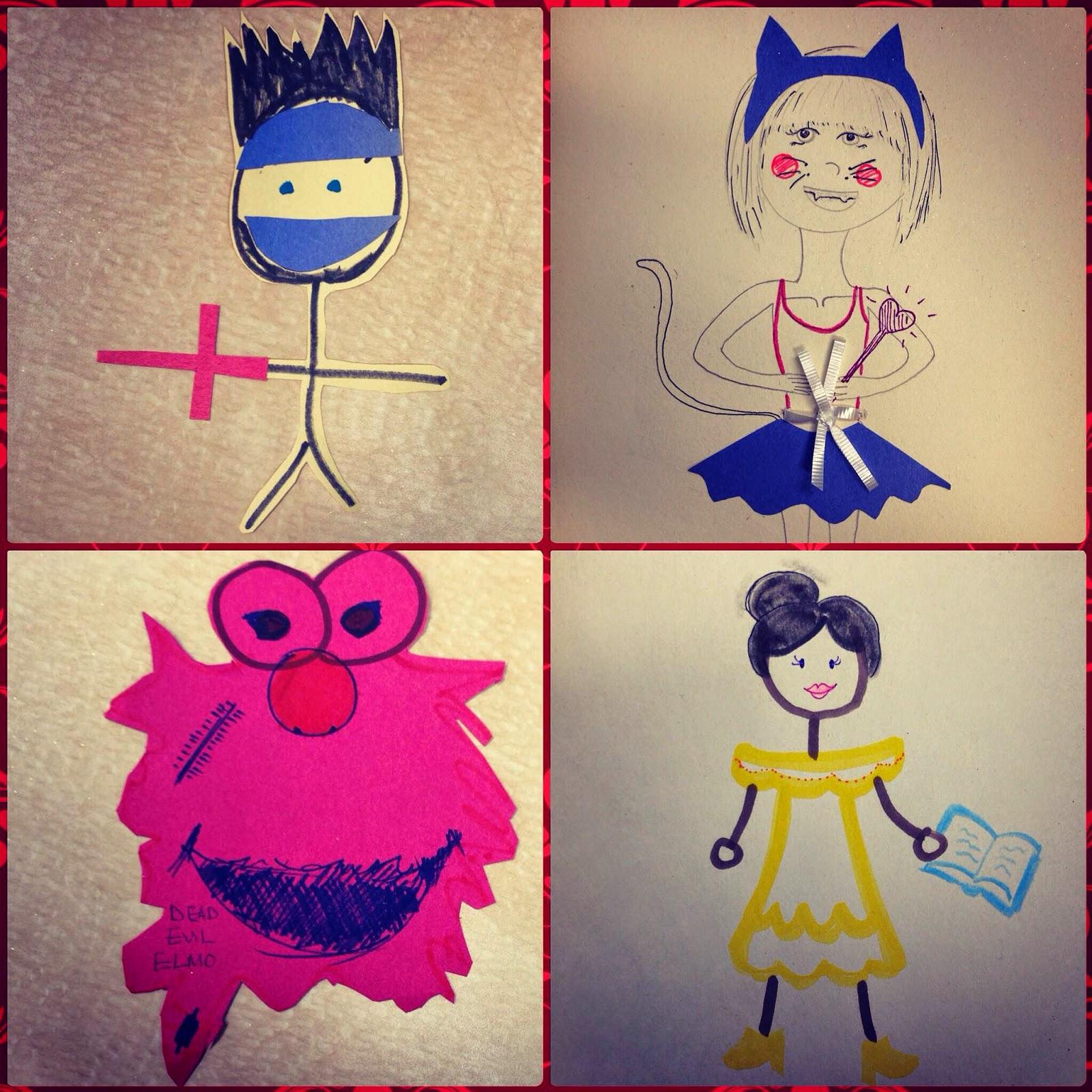 Memories of Childhood Costumes