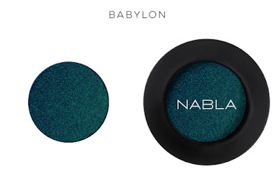 Ombretto Babylon Nabla Cosmetics verde petrolio