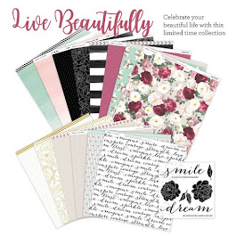 """LIVE BEAUTIFULLY"" during National Scrapbooking Month - May 2017"