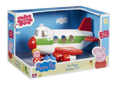 TOYS : JUGUETES - PEPPA PIG  Avión de vacaciones de Peppa  Air Peppa Holiday Jet  Producto Oficial Serie Television | Bandai | A partir de 3 años  Comprar en Amazon España & buy Amazon USA