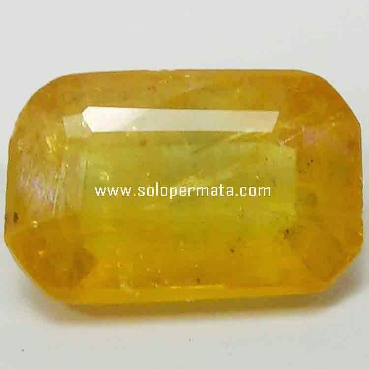 Batu Permata Yellow Sapphire - 21B05