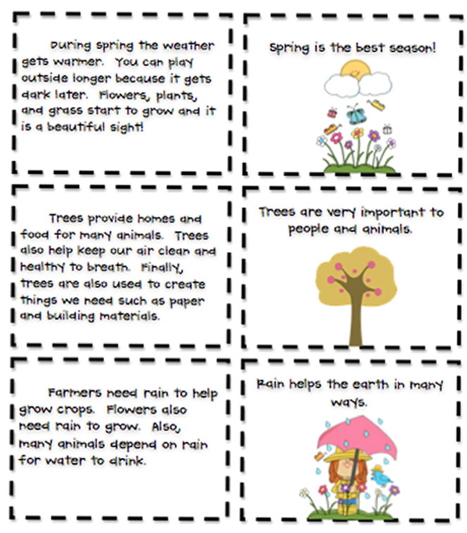 identifying main idea and supporting details worksheets