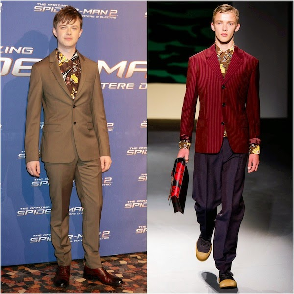 Dane DeHaan in Prada - 'The Amazing Spider-Man 2: Rise Of Electro' Rome Premiere
