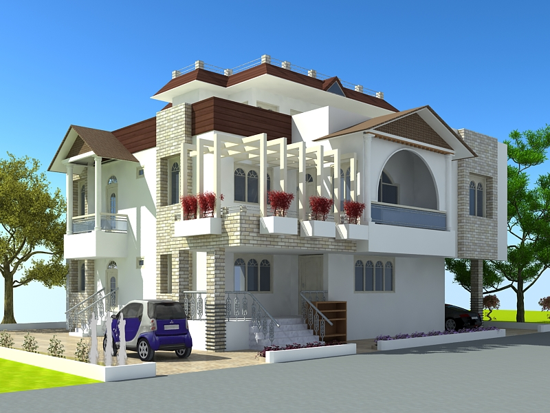 New home designs latest modern homes latest exterior for Latest modern home designs
