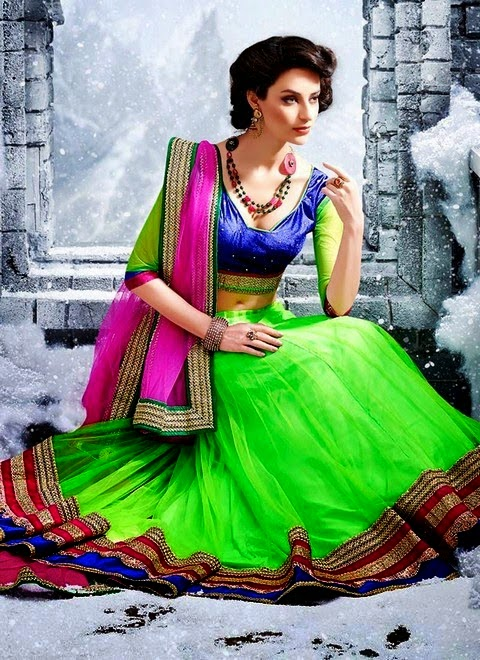 Bridal Lehenga Choli For Girls