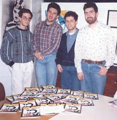 PRATO, CLUB DEL COLLEZIONISTA, APRILE 1992: MONTI, CERI, BURATTINI & MANETTI CON DIME PRESS N.1