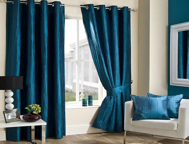 attractive cool blue combinations curtains curtains design