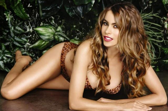 Sofia Vergara en bikini para tiendas Kmart