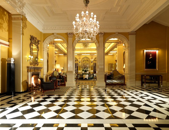Claridges Foyer Room : Predictable history unpredictable past art déco london