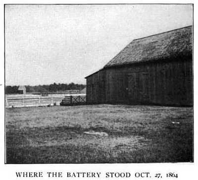Site where the 10th Battery stood, as seen in 1896