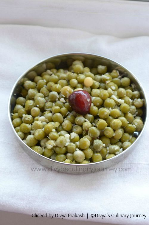 peas sundal recipe