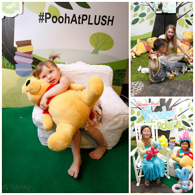 Wonder & Wander with Winnie the Pooh experience at PLUSH 2013  Photo Credit: Raul Roa/Disney